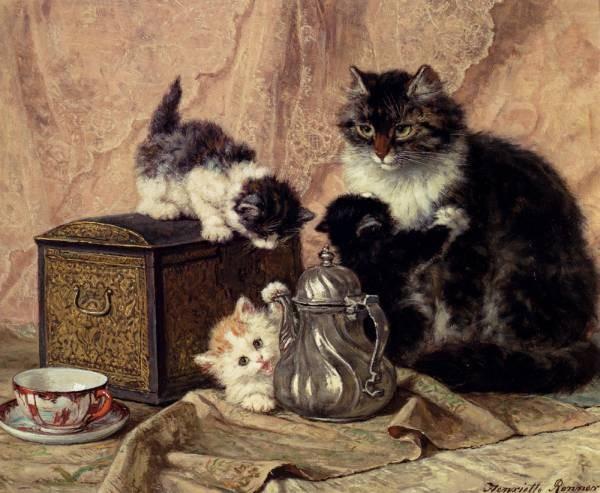Teatime For Kittens